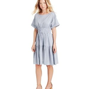 Vineyard Vines Smocked Waist Shirt Dress NWOT